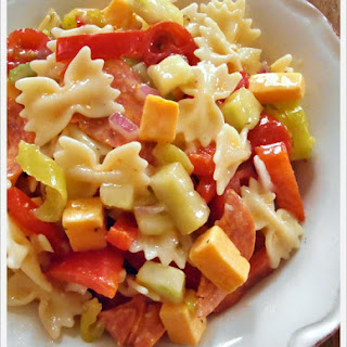 Italian Deli Pasta Salad.