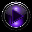 Poweramp skin TITAN VIOLET icon