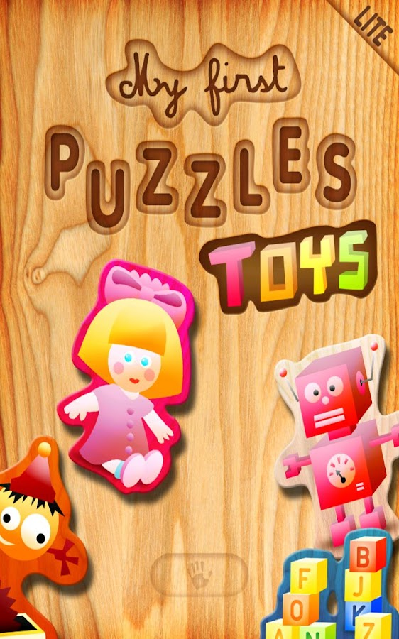First Kids Puzzles: Toys Lite- screenshot
