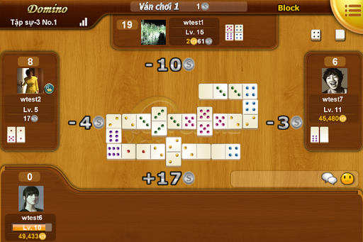 Ongame Dominoes game cờ