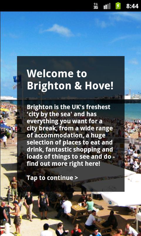 Brighton Official Guide - screenshot