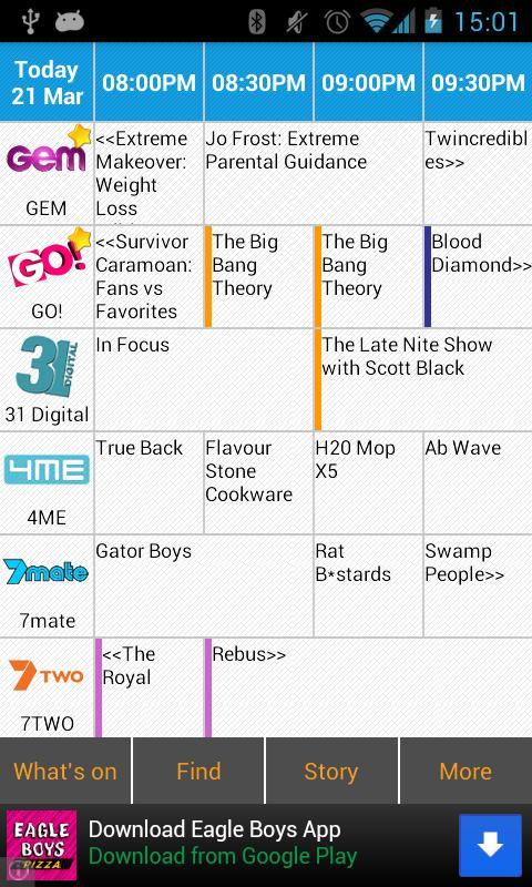 Australia TV Droid- screenshot