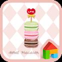 sweet macaron dodol theme icon