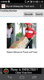 Skynet Malaysia Track & Trace - screenshot thumbnail