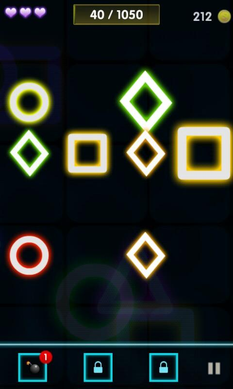 Neon Catch 2- screenshot