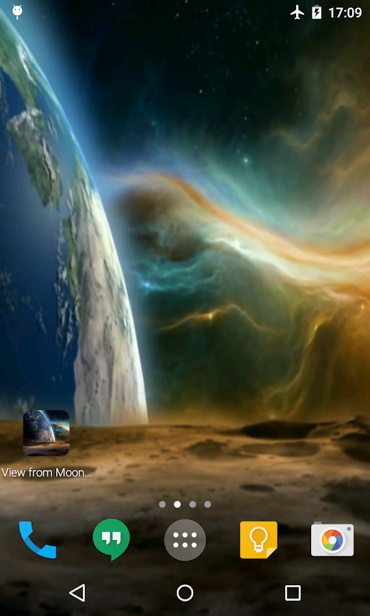 view from moon live wallpaper android apps on google play