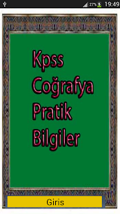 Kpss Coğrafya Pratik Bilgiler - screenshot thumbnail