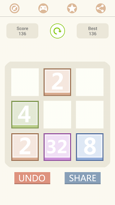 2048 super - screenshot