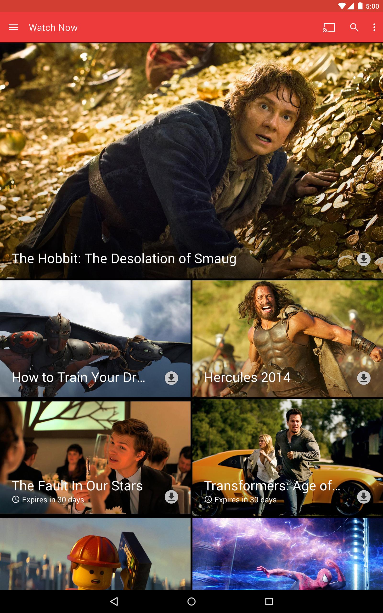 Google Play Movies & TV screenshot #6
