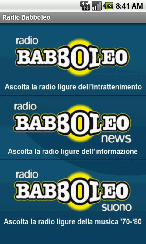 BABBOLEO- screenshot