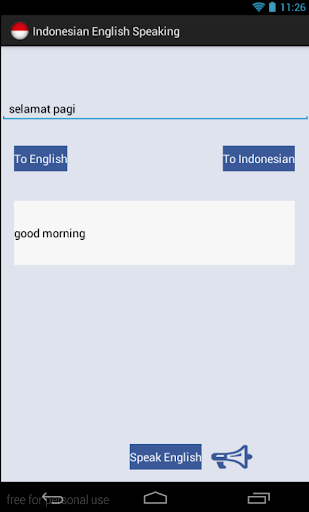 Audio Indonesian English