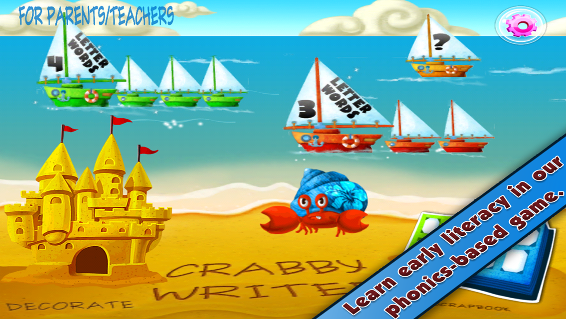 CRABBY WRITER -read/write FREE - screenshot