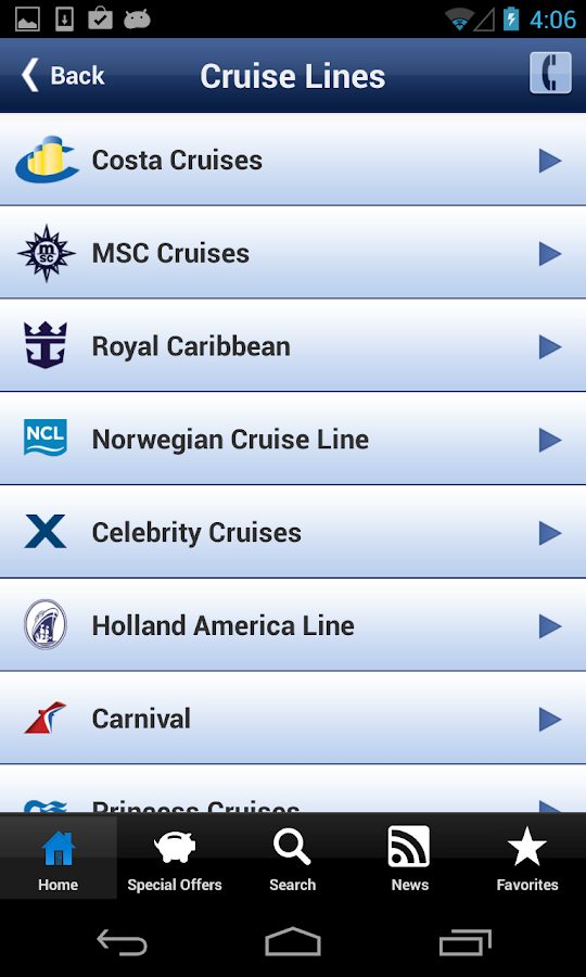 Ticketcruises - Cruises- screenshot