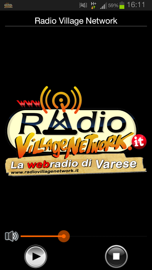Radio Village Network - screenshot