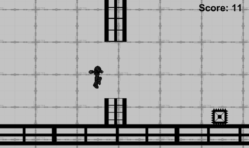 2D Hardcore Runner