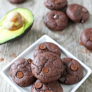 Vegan Chocolate Avocado Cookies.