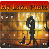 My Photo Keyboard :Love Theme