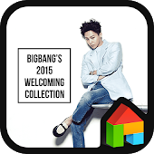 G-Dragon LINE Launcher Theme