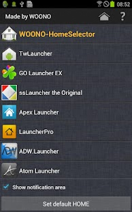 WOONO-Home Selector- screenshot thumbnail