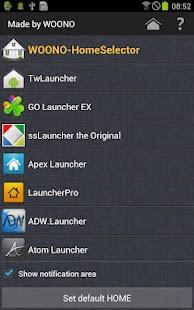 WOONO-Home Selector- screenshot thumbnail