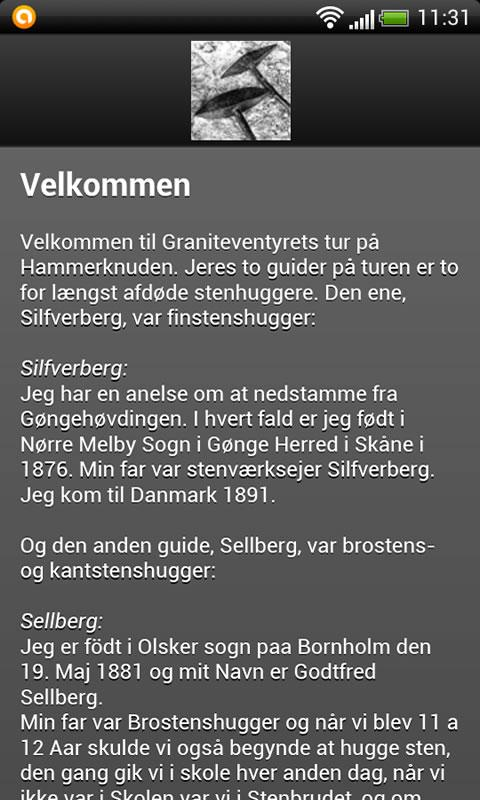 Graniteventyret Hammeren- screenshot