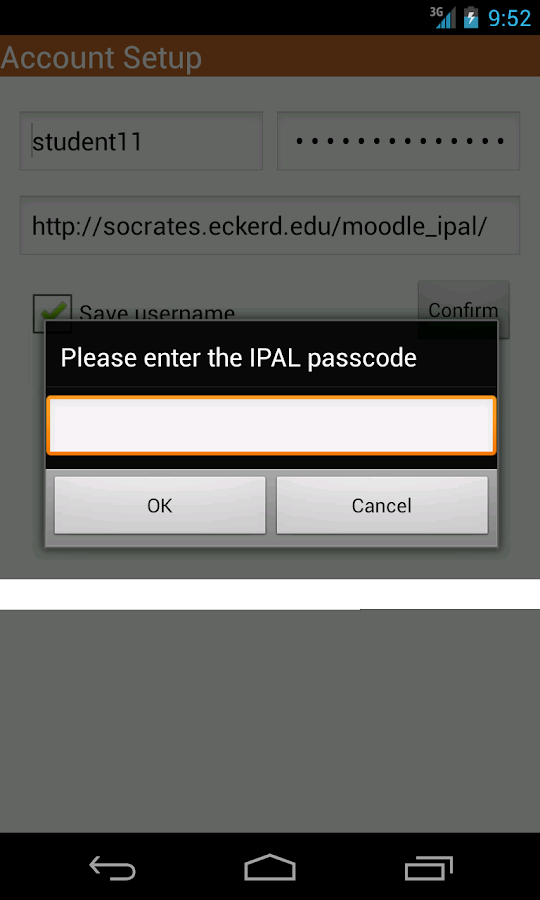 IPAL- screenshot