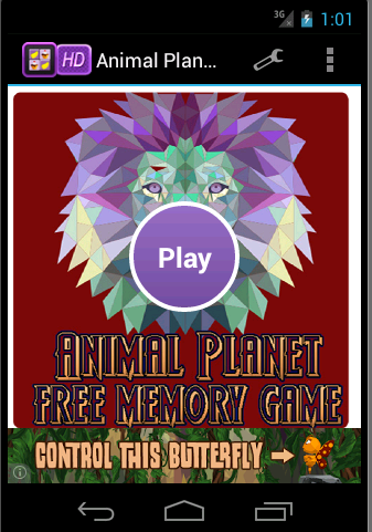 Animals Planet - Memory Game