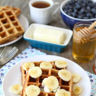 Brown Butter Banana Waffles Recipe