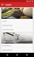 Screenshot of KeepFit