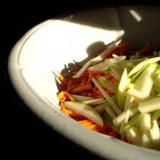 Raw Sweet Potato Salad with Arame.