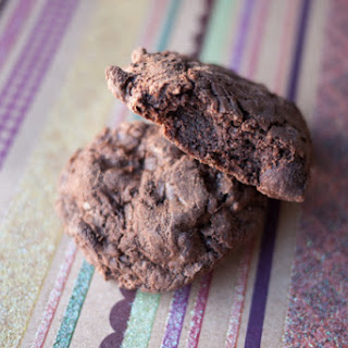 Double Chocolate and Espresso Cookies.