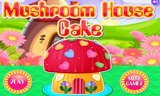きのこハウスケーキ