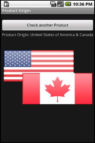 Product Origin - screenshot