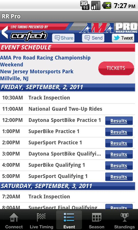 AMA Pro Road Racing - screenshot