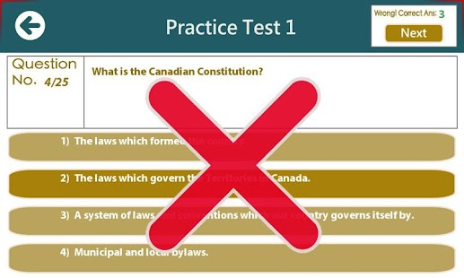 how to pass a canadian citizenship test