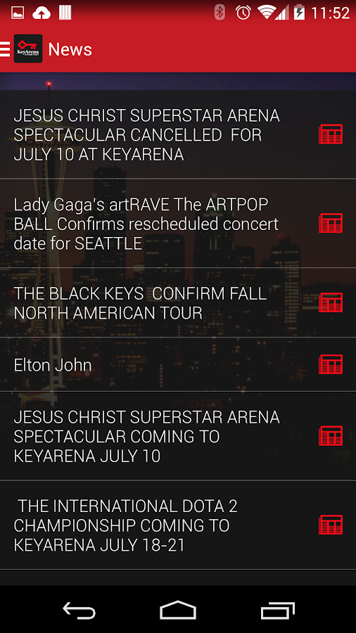 KeyArena- screenshot