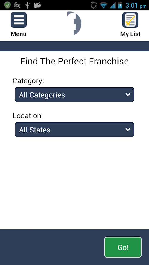 Franchises to Buy - screenshot