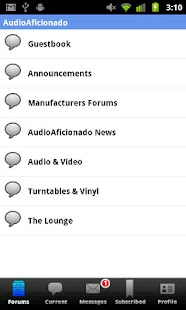 Audio Aficionado - screenshot thumbnail