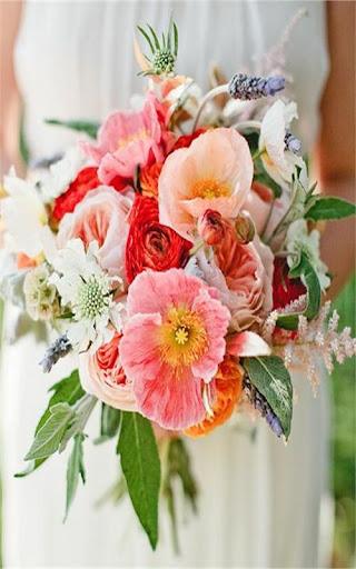 Flower Bouquet Idea Wallpaper