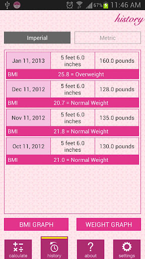 【免費醫療App】Weight and BMI Diary-APP點子