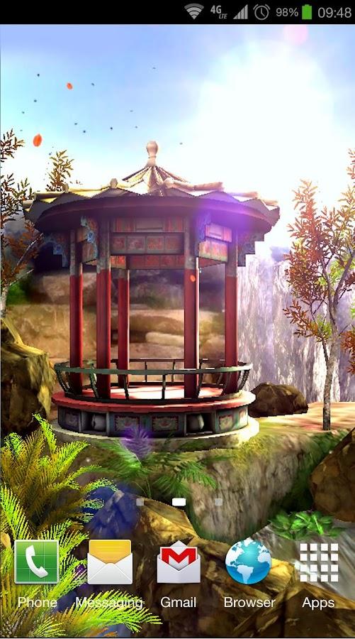 Oriental Garden 3D free - screenshot