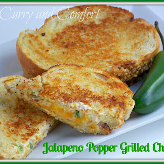 Jalapeno Popper Bacon Grilled Cheese.