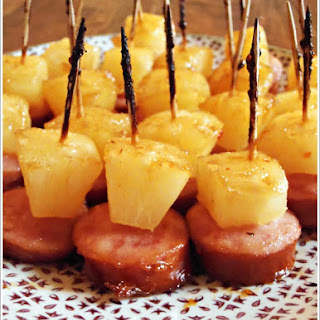 Kielbasa Pineapple Appetizer Recipes.