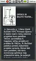 Screenshot of Vilnius Architecture