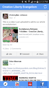 Creation Liberty Evangelism- screenshot thumbnail