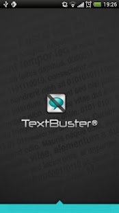 TextBuster - screenshot thumbnail