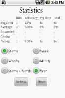 Screenshot of Word Genius Pro