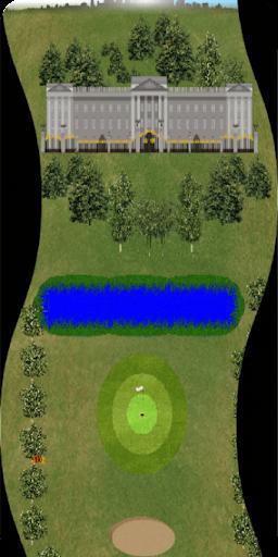 Golf Par 3 Bulls Eye