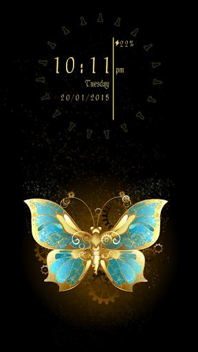 Butterfly Effect Locker Theme