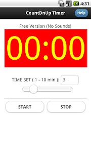 Countdown Countup Timer Free screenshot 2